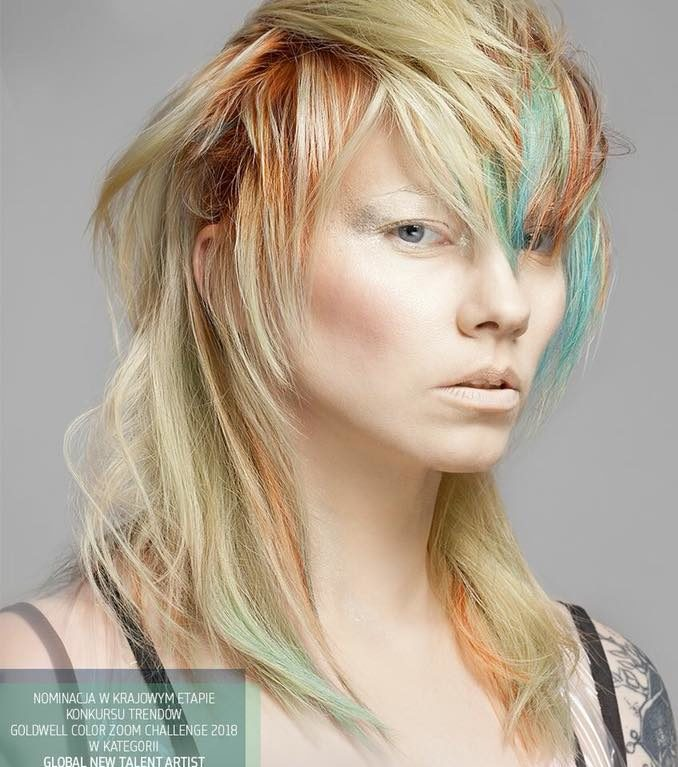 Nominacja w konkursie Goldwell Color Zoom Challenge 2018 w kategorii Global New Talent Artist – KLIMCZAK HAIR DESIGNERS