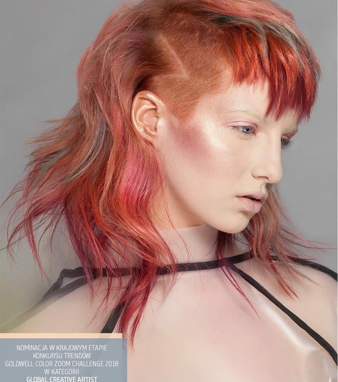 Nominacja w konkursieGoldwell Color Zoom Challenge 2018 w kategorii Global Creative Artist – KLIMCZAK HAIR DESIGNERS